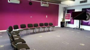 Large meeting and training rooms at CEME Conference Centre