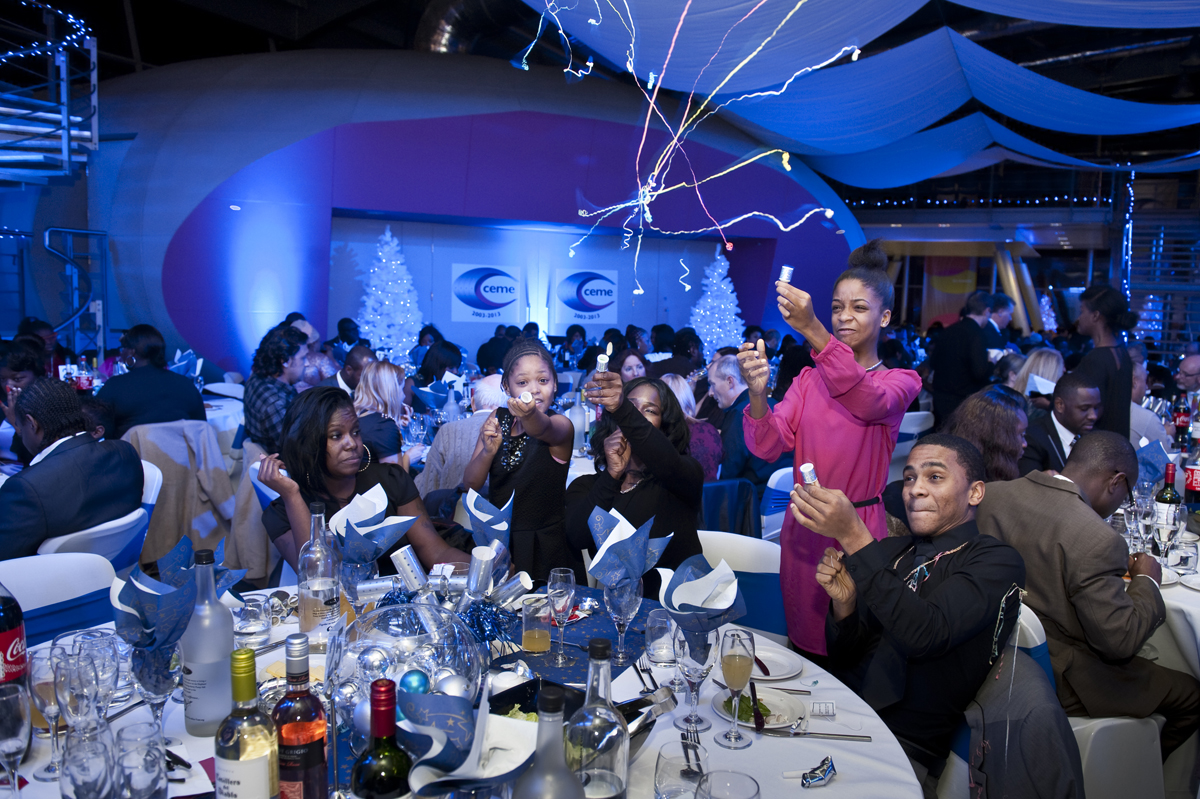 Christmas parties at CEME
