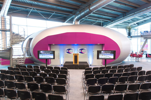 Move your seminar or presentation from Becton to CEME Conference Centre