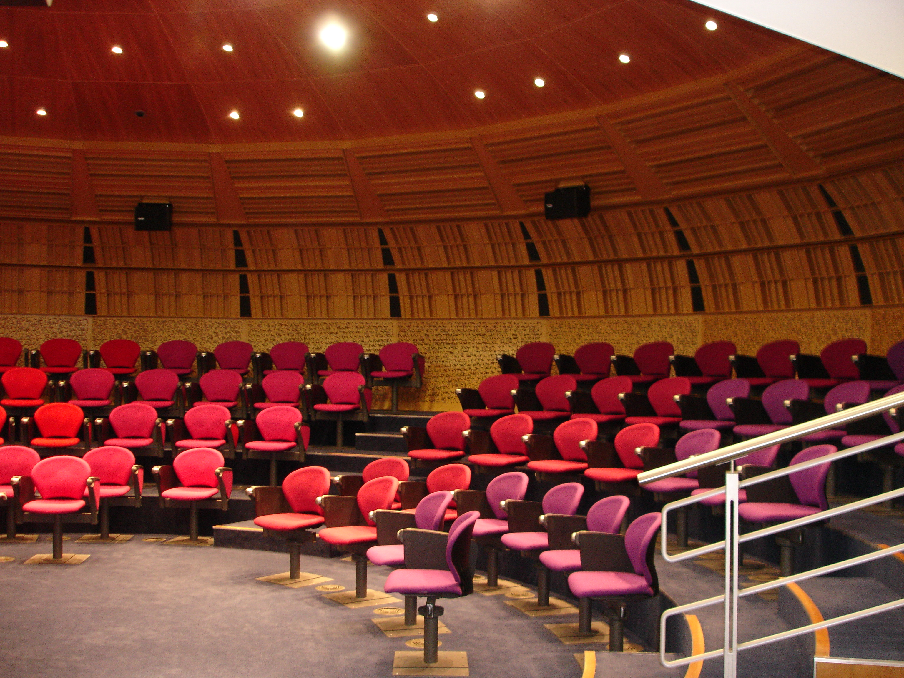 Inside the POD Theatre at CEME Conference Centre