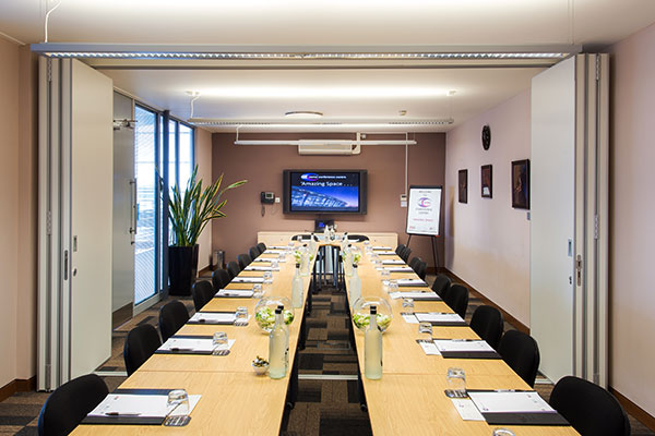 some of our medium rooms can open up to offer larger spaces for bigger meetings