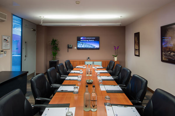 Our executive boardroom is a great space for exclusive events