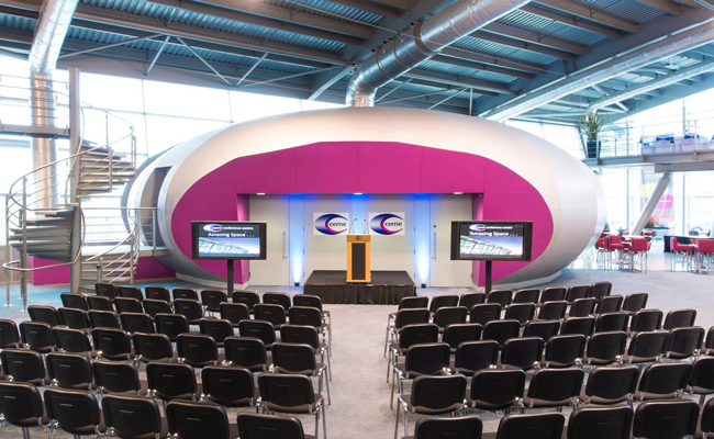 Move your Bow presentation space to CEME Conference Centre