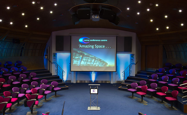 Swap your Canonbury seminar space for the POD Theatre at CEME