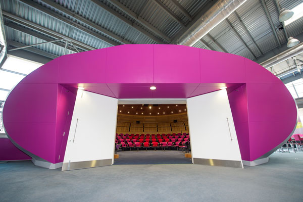 CEME POD Theatre Entrance