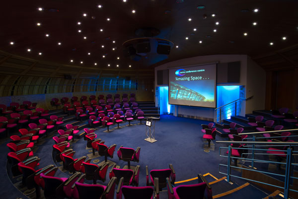 Training space at the POD Theatre
