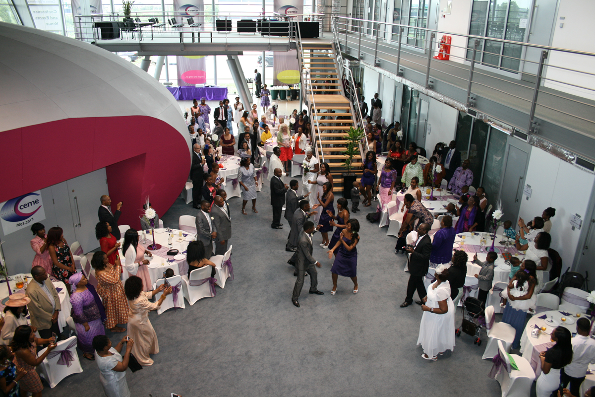 Afro-Caribbean weddings at CEME Conference Centre