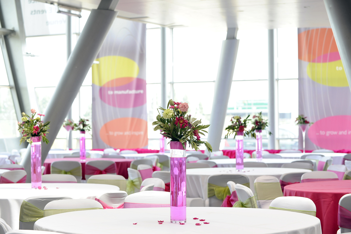 Flexible wedding space
