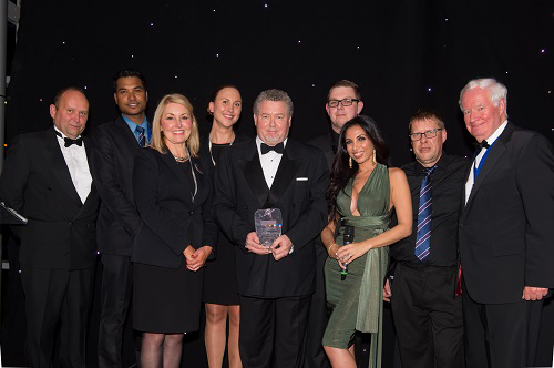 Award winning CEME Conference Events team