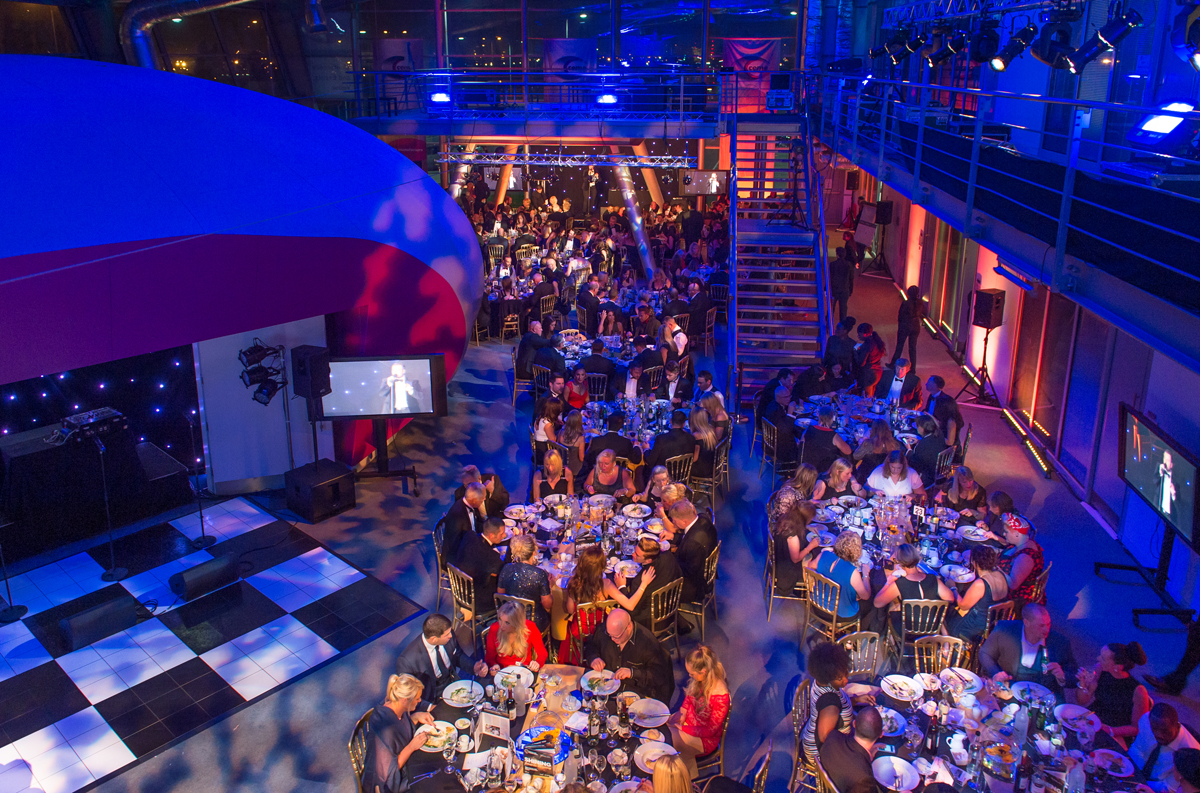 Move your awards dinner from the Olympic Park to CEME Conference Centre