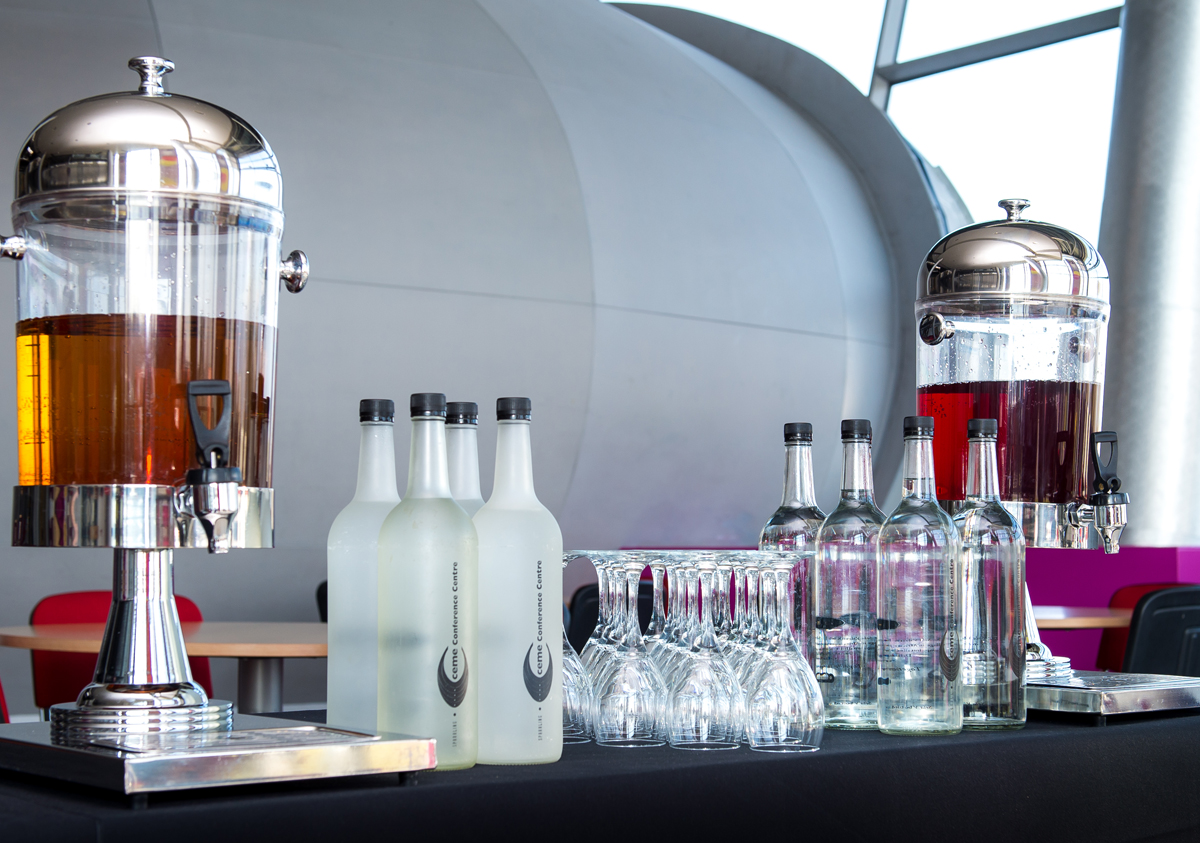 Feeling thirsty? Our still and sparkling water and selection of fruit juices will quench your thirst.