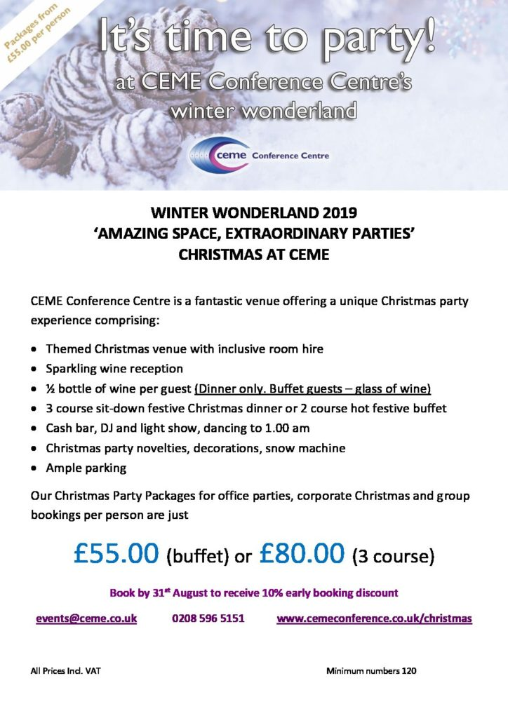 Picture A Christmas Flipchart.Christmas Ceme Conference Centre